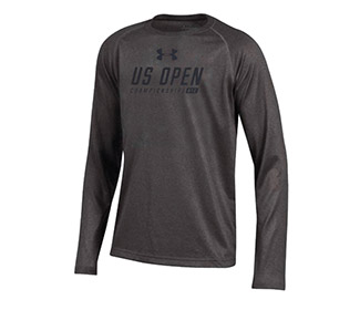 US Open '18 Under Armour Youth Tech L/S (B)